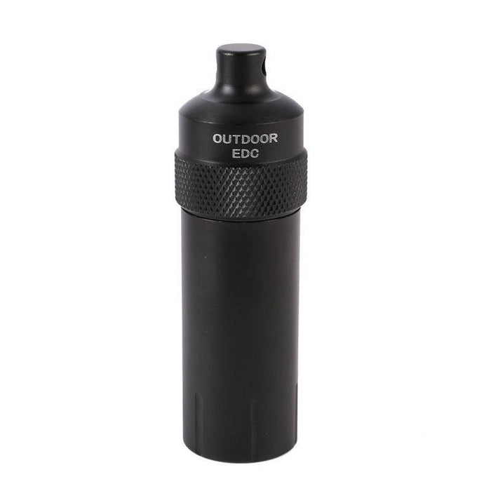 Portable Survival Aluminium Alloy Edc Waterproof Capsule Seal Bottle Container-HZ2 Store-picture show-Bargain Bait Box