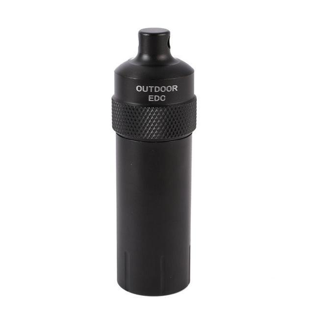 Portable Survival Aluminium Alloy Edc Waterproof Capsule Seal Bottle Container-HZ2 Store-picture show4-Bargain Bait Box