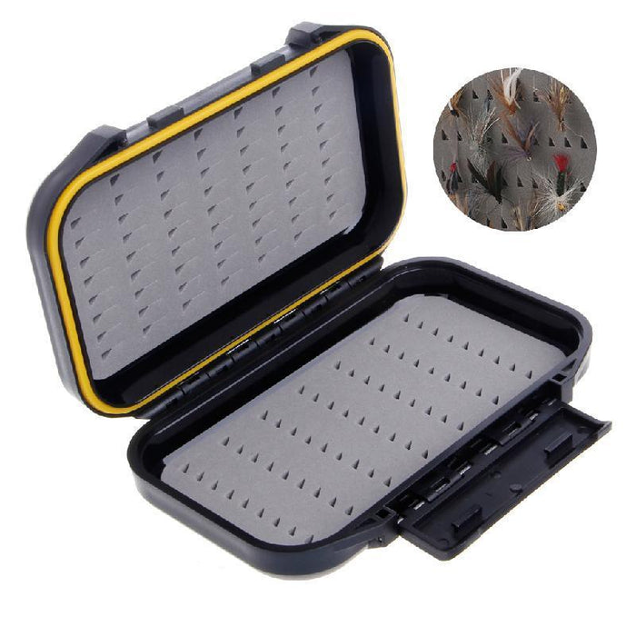 Portable Waterproof Fly Fishing Lure Bait Trout Flies Storage Box Case Container-top2007- store-Bargain Bait Box