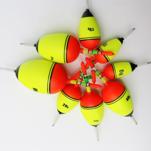 Pot-Bellied Drift Eva Floating Buoy Angeles Fishing Float-Fishing Floats-Bargain Bait Box-8g-Bargain Bait Box