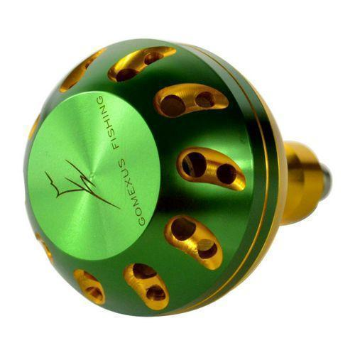 Power Knob 45Mm For Penn Shimano Avet Accurate Okuma Daiwa Reel Handles Battle-Fishing Reel Handles & Knobs-GOMEXUS-Fribest Group-gold green gold-Bargain Bait Box