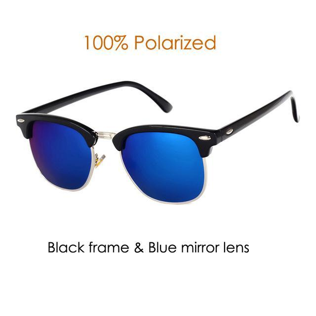 Pro Acme Classic Polarized Sunglasses Men Women Half Metal Mirror Unisex Sun-Polarized Sunglasses-Bargain Bait Box-C2-Bargain Bait Box