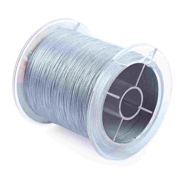 Pro Beros 500M Pe Braided Fishing Line 4 Stands Multifilament Fishing Line-Outl1fe Adventure Store-Gray-0.4-Bargain Bait Box