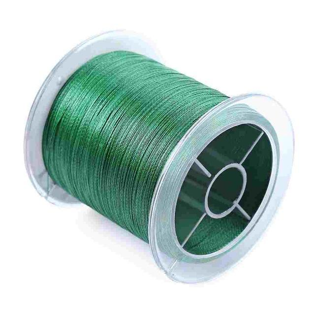 Pro Beros 500M Pe Braided Fishing Line 4 Stands Multifilament Fishing Line-Outl1fe Adventure Store-Green-0.4-Bargain Bait Box