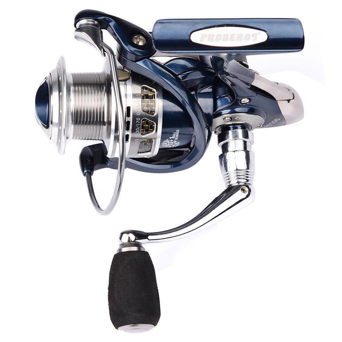 Pro Beros 5.5:1 Full Metal Head Fishing Reel 13 + 1Bb Ultra Smooth Lightweight-Spinning Reels-Shenzhen Outdoor Fishing Tools Store-1000 Series-Bargain Bait Box