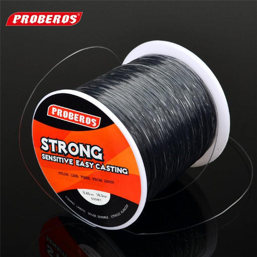 Proberos 500 Meters Fishing Lines Strong Nylon Monofilament Fluorocarbon Line-Ali Fishing Store-28LB-Bargain Bait Box