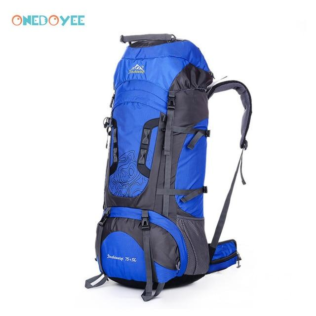 Professional Trekking Backpacks 80L Big Outdoor Sports Bag Waterproof Nylon-Climbing Bags-Alpscamping Store-Gray Color-Other-Bargain Bait Box