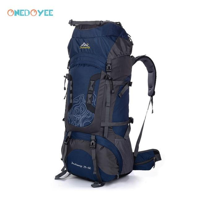 Professional Trekking Backpacks 80L Big Outdoor Sports Bag Waterproof Nylon-Climbing Bags-Alpscamping Store-Green Color-Other-Bargain Bait Box