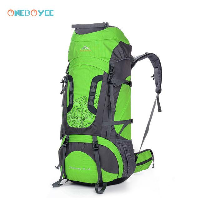 Professional Trekking Backpacks 80L Big Outdoor Sports Bag Waterproof Nylon-Climbing Bags-Alpscamping Store-White Color-Other-Bargain Bait Box