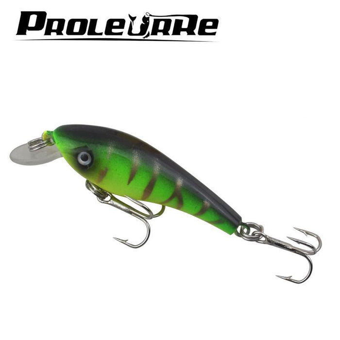 Proleurre 1Pcs Swim Fish Fishing Lure 5.7Cm 4.5 G Artificial Hard Crank Bait-PROLEURRE FISHING Store-A-Bargain Bait Box