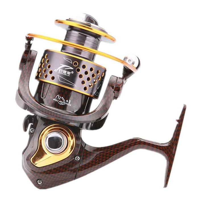 Promoting Saltwater Metal Spinning Fishing Reel Carretilha Pesca 12+1Bb-Spinning Reels-ArrowShark fishing gear shop Store-1000 Series-Bargain Bait Box