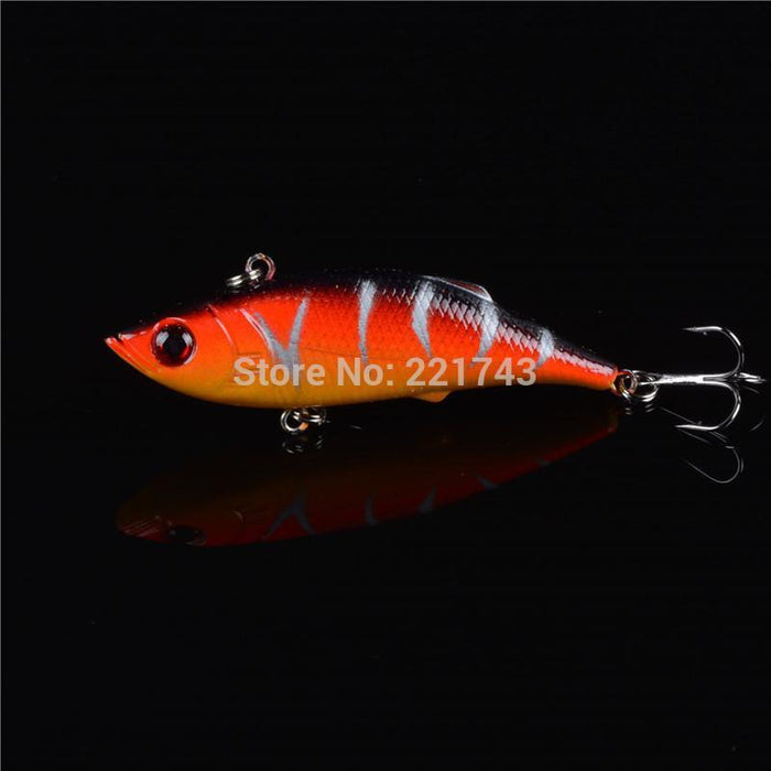 Promotion 1Pcs Hard Plastic Small Minnow Artificial Bait With 3D Eyes And Treble-Lingyue Fishing Tackle Co.,Ltd-C1-Bargain Bait Box