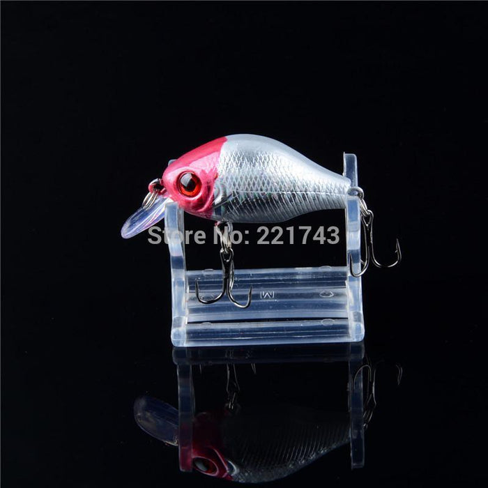 Promotion Sale 1Pcs 5 Colors Small Hard Crank Crankbaits Fishing Bait 6Cm/8.8G-Lingyue Fishing Tackle Co.,Ltd-NO1-Bargain Bait Box