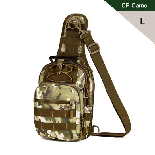 Protector Plus Sport Camping Man Bag Military Tactical Back Pack Outdoor-Protector Plus Tactical Gear Store-CP Camo L-Bargain Bait Box