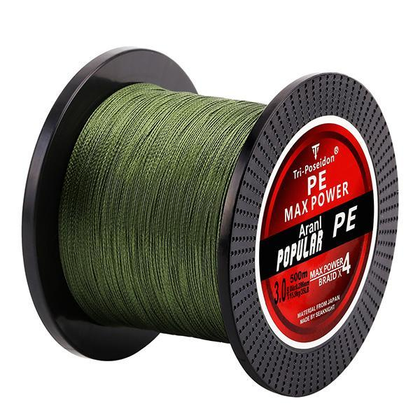 Quality 500M Brand Blade Series Good Quality Multifilament Fish Line Rope 8 10-NUNATAK Fishing Store-Green-0.4-Bargain Bait Box