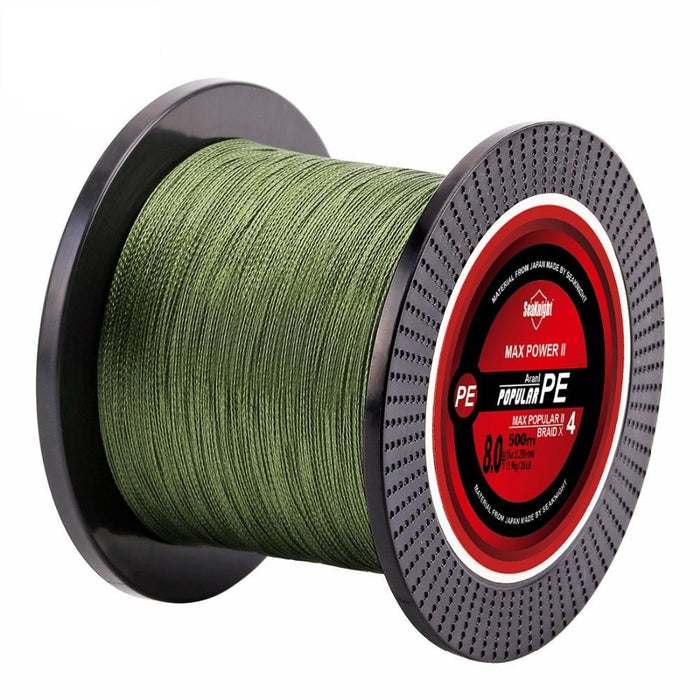 Quality 500M Brand Blade Series Good Quality Multifilament Fish Line Rope 8 10-NUNATAK Fishing Store-White-0.4-Bargain Bait Box