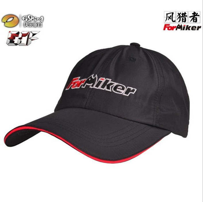 Quick Drying Breathable Fishing Hat Sunscreen Hat Pattern Thin Version Anti-Uv-Hats-Bargain Bait Box-Black-XL-Bargain Bait Box