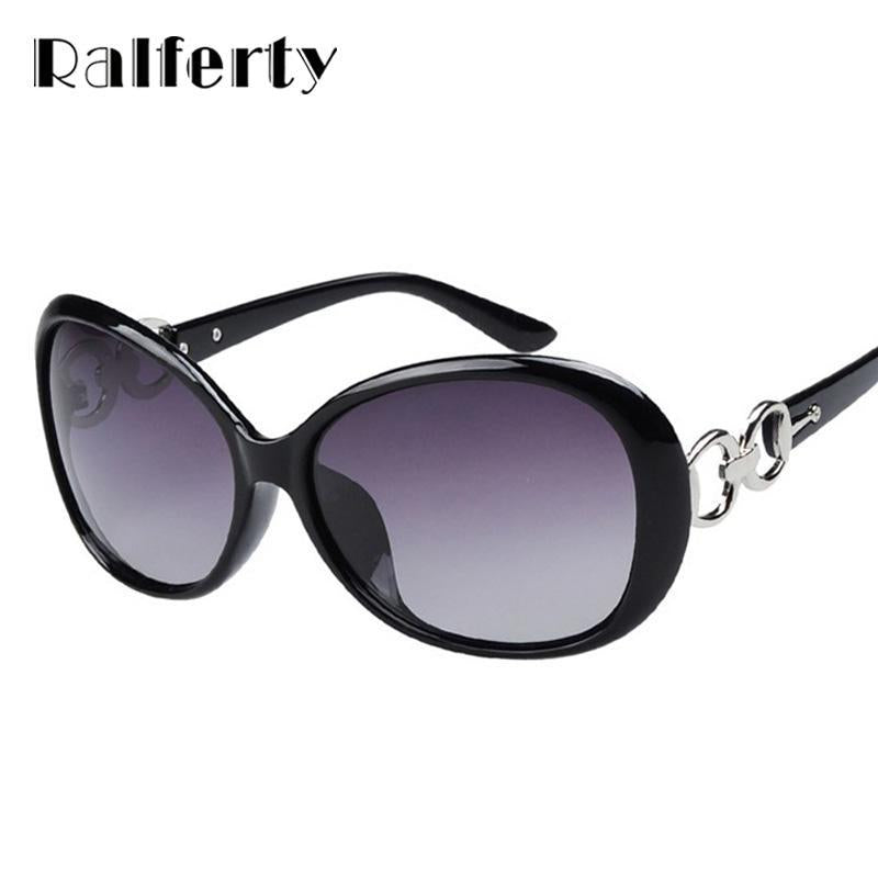 Ralferty Polarized Sunglasses Women Polaroid Goggles Uv400 Sun Glasses Female-Polarized Sunglasses-Bargain Bait Box-black-Bargain Bait Box