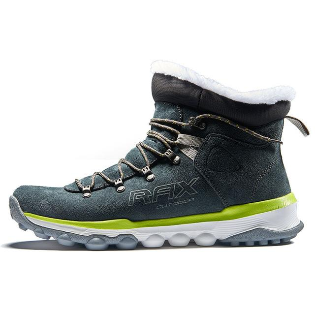 Rax Mens Warm Fleece Boots Walking Shoes Men Breathable Snow Boots Thermal-shoes-KL Sporting Goods Outlet Store-Youlan hiking shoes-6-Bargain Bait Box