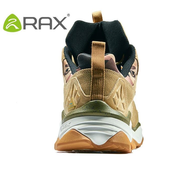Rax Men'S Waterproof Hiking Shoes Climbing Backpacking Trekking Mountain Boots-Ruixing Outdoor Store-black-6.5-Bargain Bait Box