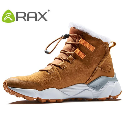 Rax Women'S Hiking Shoes Mountain Trekking Warm Breathable Soft Comfortable-shoes-Ruixing Outdoor Store-BLACK-5-Bargain Bait Box