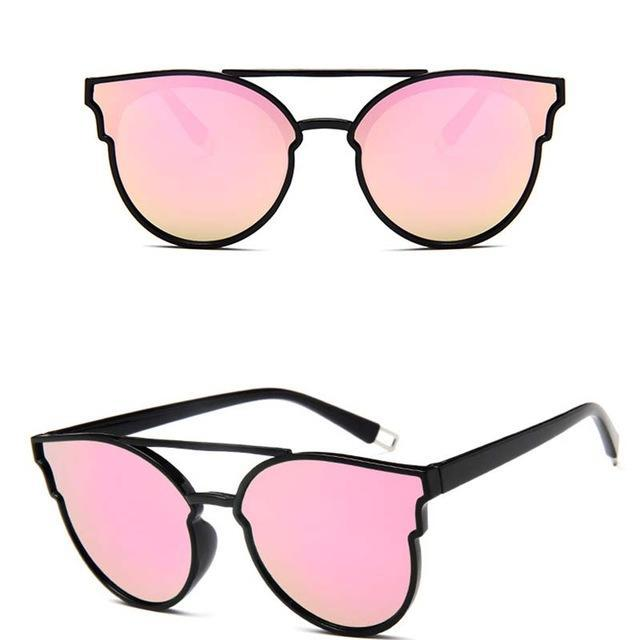 Rbrovo Vintage Butterfly Sunglasses Women Luxury Plastic Ocean Lens Sun-Sunglasses-RBROVO Boutique Store-Black Pink-Bargain Bait Box