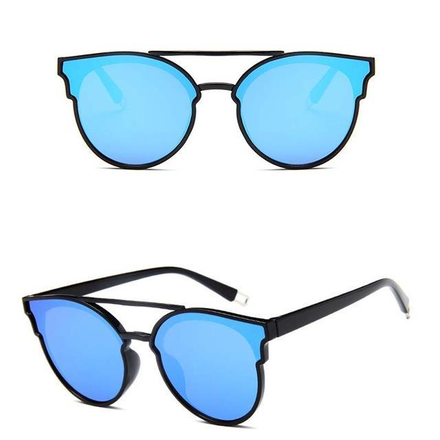 Rbrovo Vintage Butterfly Sunglasses Women Luxury Plastic Ocean Lens Sun-Sunglasses-RBROVO Boutique Store-Blue-Bargain Bait Box