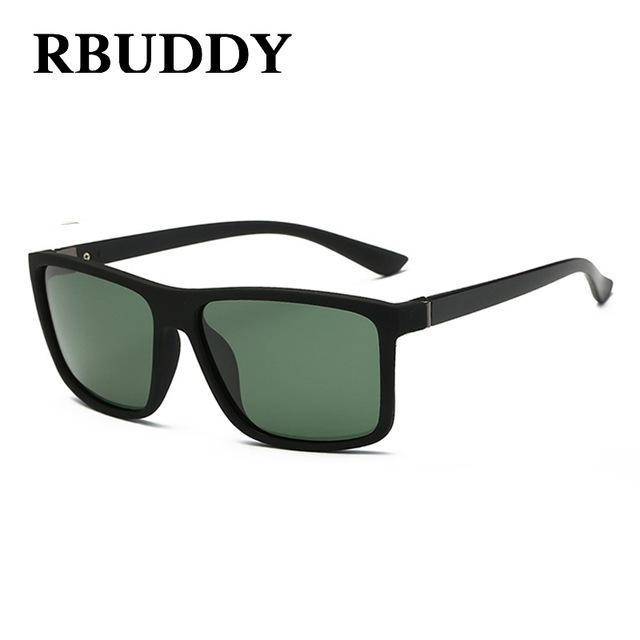 Rbuddy Sunglasses Men Polarized Square Sunglasses Design Uv400 Protection Shades-Polarized Sunglasses-Bargain Bait Box-R3-Bargain Bait Box
