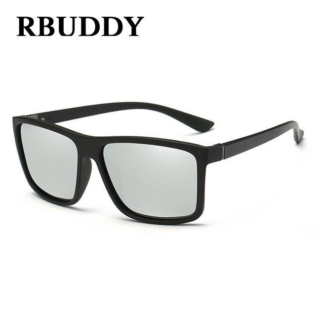 Rbuddy Sunglasses Men Polarized Square Sunglasses Design Uv400 Protection Shades-Polarized Sunglasses-Bargain Bait Box-R5-Bargain Bait Box