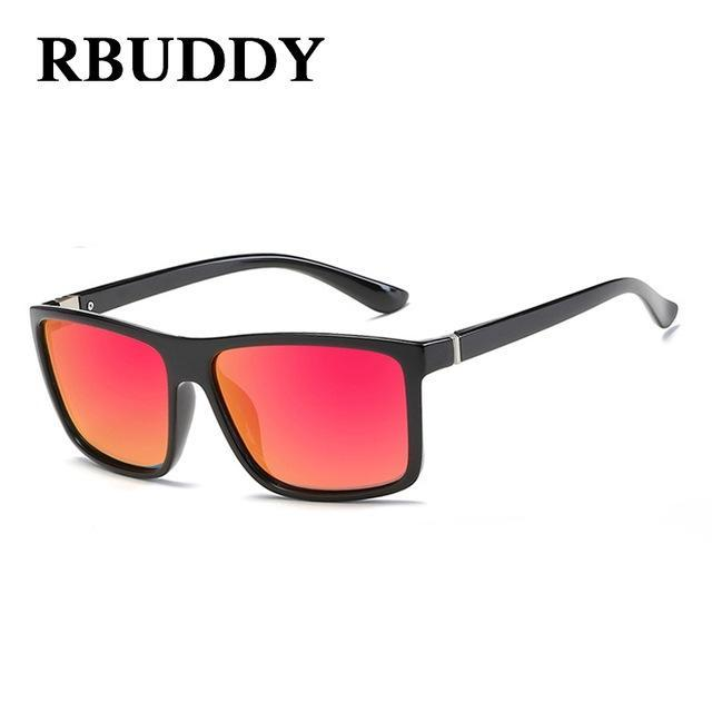 Rbuddy Sunglasses Men Polarized Square Sunglasses Design Uv400 Protection Shades-Polarized Sunglasses-Bargain Bait Box-R6-Bargain Bait Box