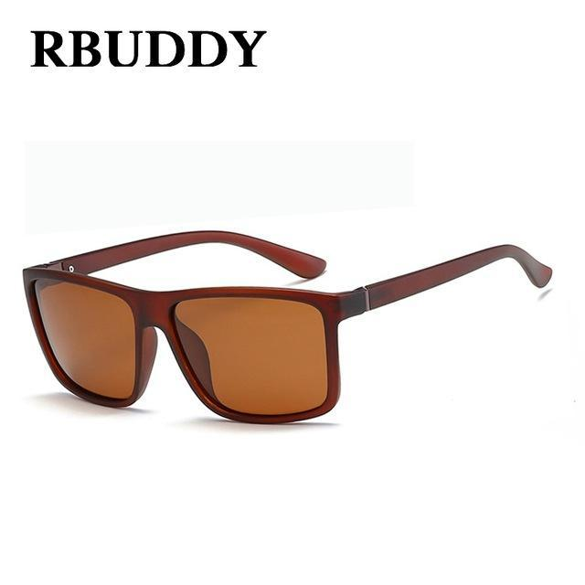 Rbuddy Sunglasses Men Polarized Square Sunglasses Design Uv400 Protection Shades-Polarized Sunglasses-Bargain Bait Box-R7-Bargain Bait Box