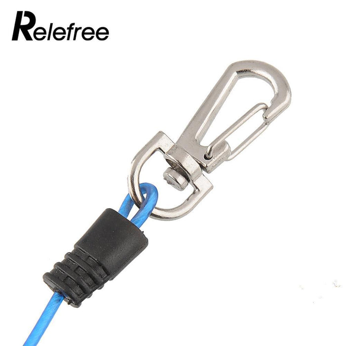 Relefree 3M Braid Safety Boat Fishing Lanyard Cable Heavy Duty Rope Release-Sports Life Kingdom-Bargain Bait Box