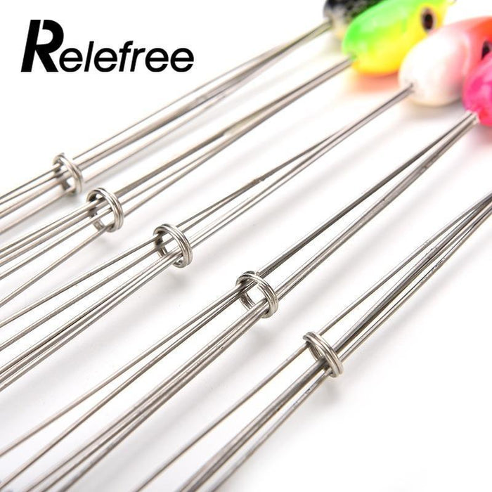 "Relefree Umbrella Rig Bait Fishing Group Lure Leader 8.3"" Alabama Multi-Color-Inner beauty always-Bargain Bait Box"