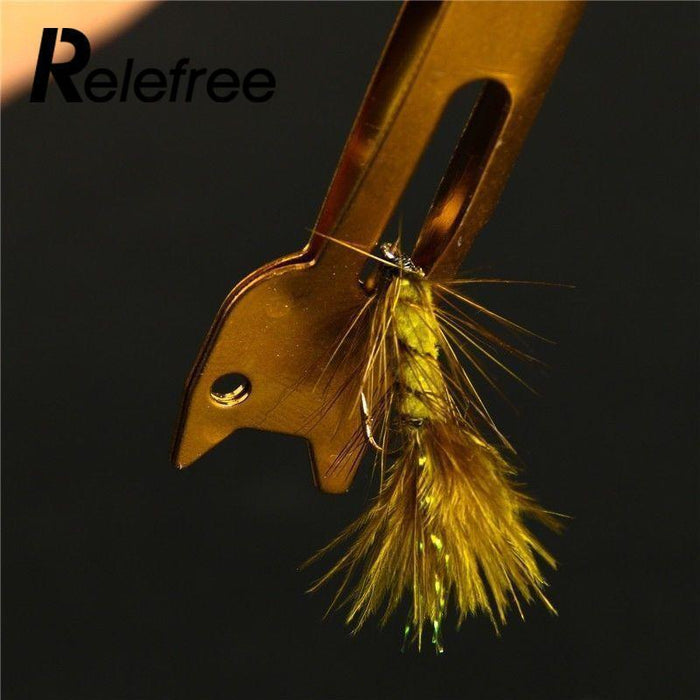 Relefree Useful Metal Fast Knot Tying Tool Fishing Line Tyer Accessories-Inner beauty always-Bargain Bait Box