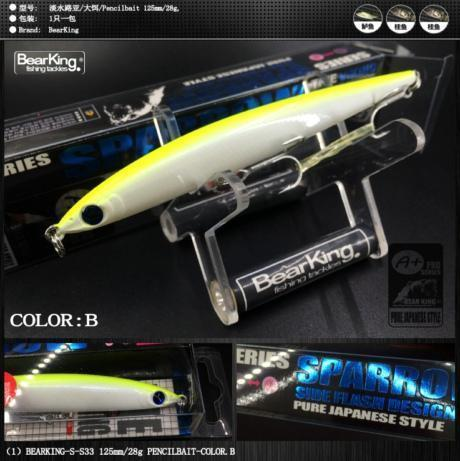 Retail Good Fishing Lures Minnow,Quality Professional Baits-bearking Official Store-B-Bargain Bait Box