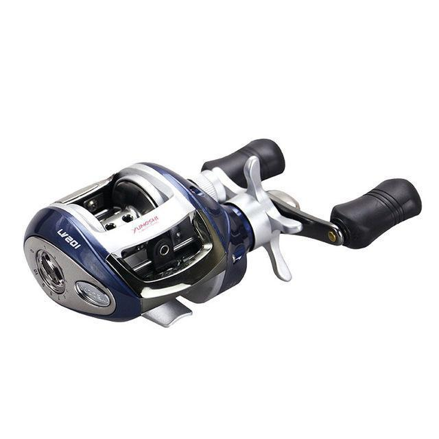 Right Or Left Hand Baitcasting Reel 12+1Bb 6.3:1 Bait Casting Fishing Reel-Baitcasting Reels-LooDeel Outdoor Sporting Store-Blue-Left Hand-Bargain Bait Box