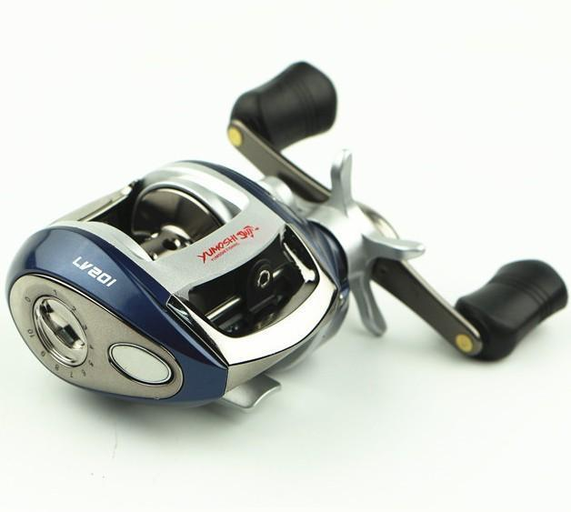 Right/Left Hand Baitcasting Reel Fishing Fly High Speed Fishing Reel With-Baitcasting Reels-Rompin Fishing Tackle Store-dark blue right hand-Bargain Bait Box