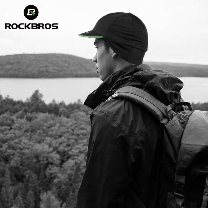 Rockbros Outdoor Sports Hiking Caps Men'S Camping Bicycle Snowboard Ski Warmer-Gobike Store-Bargain Bait Box