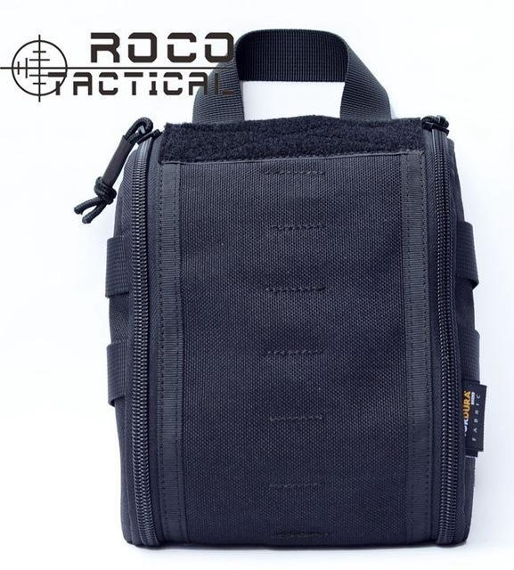 Rocotactical Emergency Military Medical Bag Molle Emt Tactical Medic Pack-Emergency Tools & Kits-Bargain Bait Box-Black-Bargain Bait Box