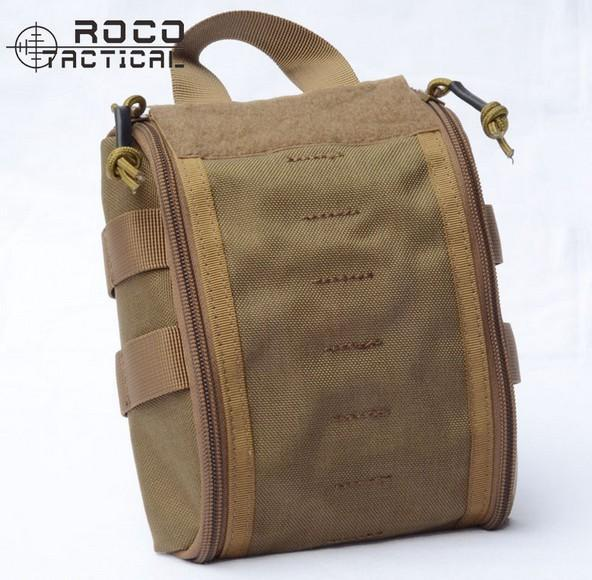 Rocotactical Emergency Military Medical Bag Molle Emt Tactical Medic Pack-Emergency Tools & Kits-Bargain Bait Box-TAN-Bargain Bait Box