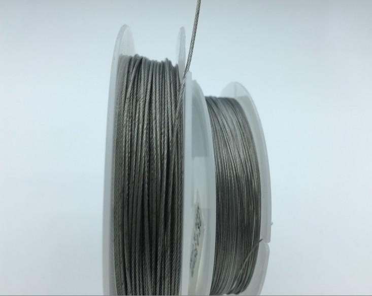Rompin 10M Fishing Stainless Steel Wire Line 7 Strands Trace Coating Wire Leader-Rompin Fishing Store-0i30mm-Bargain Bait Box