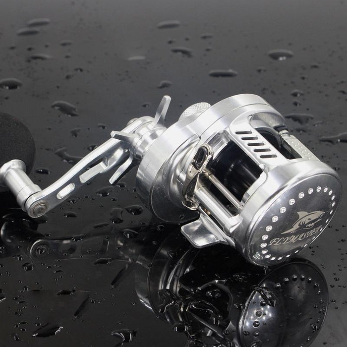 Rover Drum Saltwater Fishing Reel Pesca 6.2:1 9+1Bb Baitcasting Saltwater Sea-Baitcasting Reels-Mr. Fish Store-Gold-Left-Bargain Bait Box