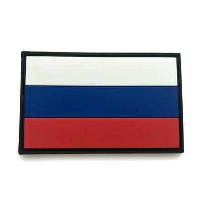 Russia Country Flag Outdoor Tools 3D Embroidery Hook Loop Fasten Cloth-explore world Store-3-Bargain Bait Box