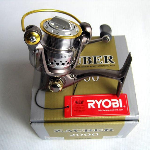 Ryobi Fishing Line Reel Zauber 1000/2000/3000/4000 Spinning Reel Metal Lure-Fishing Reels-Asian fishing Store-1000 Series-Bargain Bait Box