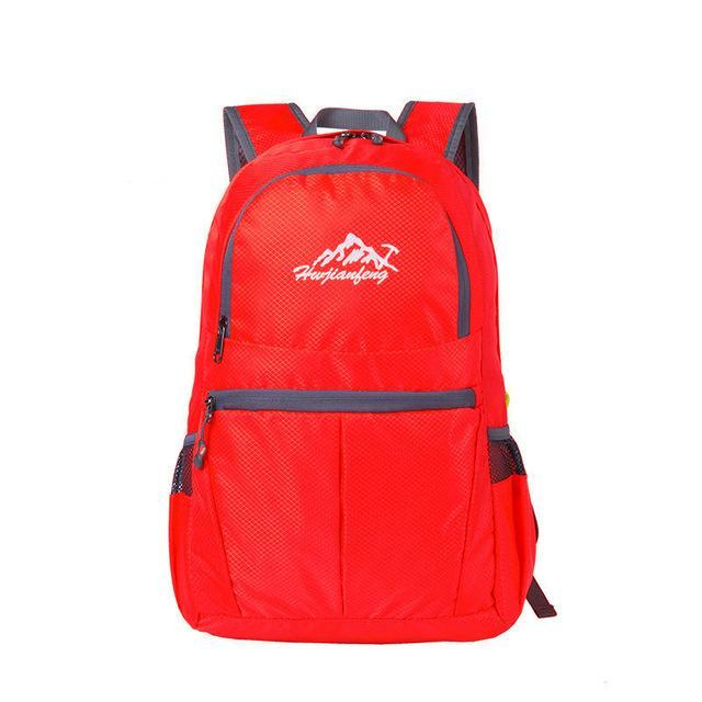 S Backpack Camping Fishing Waterproof Bag Sports Bags Ultralight Portable-Backpacks-Bargain Bait Box-Red-Bargain Bait Box