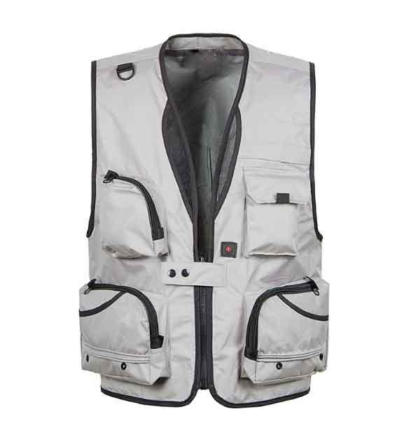 S S Vests Mesh Plus Size Xl-5Xl Pographer With Many Pocket-Vests-Bargain Bait Box-CHECK SIZE-XL-Bargain Bait Box