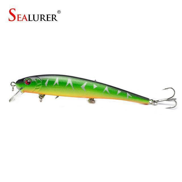 S Sealurer Hot Model Fishing Lures 13Cm/19G Swimbait Jointed Bait Minnow 5-SEALURER Official Store-colorB-Bargain Bait Box