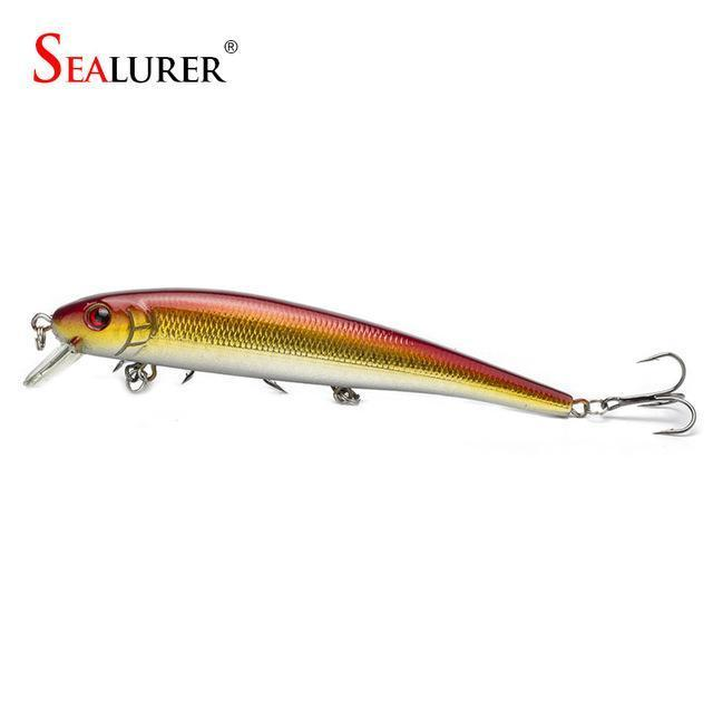 S Sealurer Hot Model Fishing Lures 13Cm/19G Swimbait Jointed Bait Minnow 5-SEALURER Official Store-colorC-Bargain Bait Box