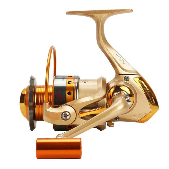 Saltwater Spinning Fishing Reel 12Bb 500-9000 Series Metal Spool Carp Fishing-Spinning Reels-YPYC Sporting Store-1000 Series-Bargain Bait Box
