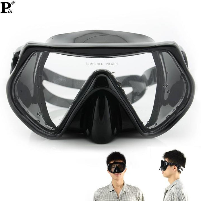 Scuba Diving Mask Swimming Spearfishing Training Diving Snorkeling Silicone-Spearfishing-Bargain Bait Box-Bargain Bait Box